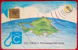 60 Units Map - Antilles (Netherlands)