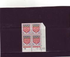 N° 1352 - 0,05F Blason D'AMIENS - H De G+H - 2° Tirage Du 23.1.65 Au 5.2.65 - 2.02.1965 - - 1960-1969