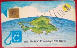 120 Units Map - Antilles (Netherlands)