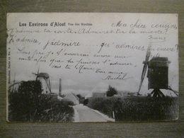 Cpa Aalst Environs D'Alost - Vue Des Moulins Molen - Nels 15 6 - 1900 - Aalst
