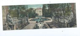 Salzburg Schloss Hellbrunn Wasserspiele ( Doppel AK ) Gelaufen - Salzburg Stadt