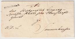 """Bayern, 1834, """" FEUCHTWANGEN - R.3 """" , Klar ,  #a158 - Bayern"""