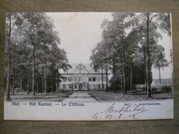 Cpa Niel (Anvers) - Het Kasteel - Le Chateau - Edit. L. Slootmaekers - 1902 - Niel