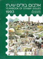 ISRAEL - ANNEE 1993 COMPLETE - NEUFS ** LUXE/MNH Dans Son Livret D'origine De La Poste D'Israël - Israel