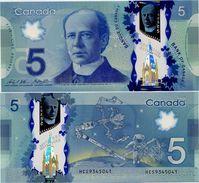 CANADA       5 Dollars       P-106c       2013 (ca. 2015)       UNC  [ Sign. Wilkins - Poloz ] - Canada
