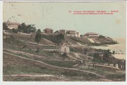7-Dakar-Senegal-Ponte E Caserme-Storia Postale:10c.isolato-v.1905? X L' Estero:Milano-Italia - Senegal