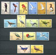 226 OCEAN INDIEN 1975 - Yvert 63/77 - Oiseaux - Neuf **(MNH) Sans Trace De Charniere - Territoire Britannique De L'Océan Indien