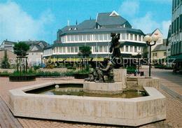 73207189 Montabaur_Westerwald Rathaus Schusterbrunnen Montabaur_Westerwald - Montabaur
