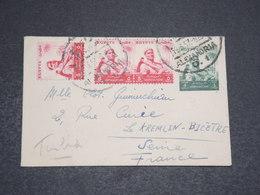 EGYPTE - Enveloppe D'Alexandrie Pour La France En 1957 - L 15997 - Égypte