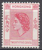 HONG KONG    SCOTT NO. 189      MINT HINGED     YEAR  1954 - Hong Kong (...-1997)