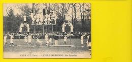 CARMAUX L'Etoile Carmausine Pyramide Gymnastique (Photo Moderne) Tarn (81) - Carmaux