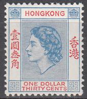 HONG KONG    SCOTT NO. 195      MINT HINGED     YEAR  1954 - Hong Kong (...-1997)