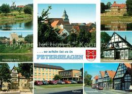 73213778 Petershagen_Weser Bueschingsche Muehle Weserland Klinik Petrikirche Sch - Petershagen