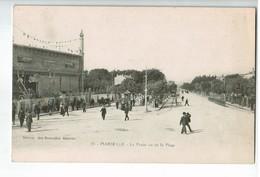 20465  CPA   MARSEILLE  : Le Prado Vue De La Plage  , 1915 , ACHAT DIRECT  !!! - Castellane, Prado, Menpenti, Rouet