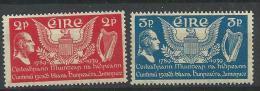 Irlande 1939 N°75/76 Neufs* MLH Constitutiondes Etats Unis - Unused Stamps