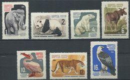 226 RUSSIE (URSS) 1964 - Yvert 2821/27 - Elephant Panda Ours Faucon ... - Neuf **(MNH) Sans Trace De Charniere - 1923-1991 URSS