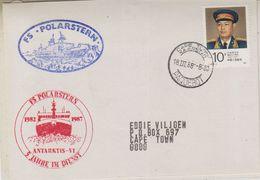 China 1988 Cover Ca Cape Town 18 III 88 Paquebot, Ca FS Polarstern (38580) - Postzegels