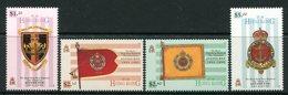 Hong Kong 1995 Disbandment Of The Royal Hong Kong Regiment Set MNH (SG 806-09) - Hong Kong (...-1997)