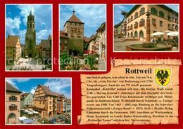 73213363 Rottweil_Neckar Kapellenkirche Hauptstrasse Schwarzes Tor Altes Rathaus - Rottweil
