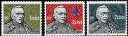 Lorbeerblatt 1970 Portugal 1099/1 ** 4€ Kunst Schmuck Eichenzweig Palme Wappen Präsident Carmona Hb Waps Set Bf Art - 1910-... République