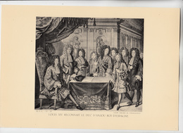 PLANCHE HISTOIRE DU PEUPLE FRANCAIS LOUIS XIV RECONNAIT LE DUC D'ANJOU ROI D'ESPAGNE - Technical Plans