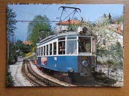 TRAM / Strassenbahn Triest-Opicina --> Unwritten - Tranvía