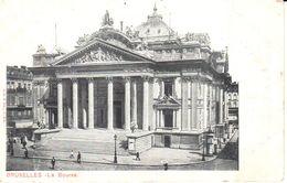 Bruxelles - CPA - Brussel - La Bourse - Bossen, Parken, Tuinen