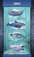 SIERRA LEONE 2018 Fish Marine Life  Whales S201803 - Sierra Leone (1961-...)