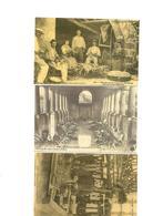 Carte Postale Bourg St Andéol (07) Le Lavoir De Tournes Et Industries Du Ver à Soie Repro 3 Cartes - Bourg-Saint-Andéol