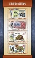 SIERRA LEONE 2018 Stamps On Stamps S201803 - Sierra Leone (1961-...)