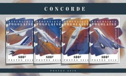 Togo 2018 Concorde S201803 - Togo (1960-...)