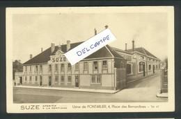 25 - Doubs -Pontarlier - Suze - Gentiane - Usine Place Des Bernardines - Pontarlier