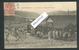 25 - Doubs -Pontarlier - Les Cuisines Au Camp Des Pareuses - Pontarlier