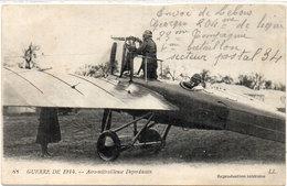 """Aeromitrailleuse """"Deperdussin"""" (105661) - Weltkrieg 1914-18"""