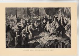 PLANCHE HISTOIRE DU PEUPLE FRANCAIS LOUIS XIV RECOIT LES AMBASSADEURS DE PERSE - Technical Plans