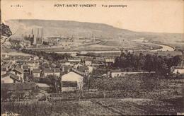 Meurthe Et Moselle, Pont Saint Vincent, Vue Panoramique      (bon Etat) - Other Municipalities