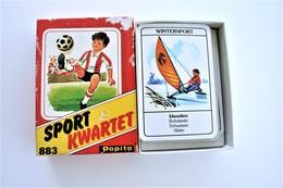 Speelkaarten - Kwartet, Sport Kwartet, Papita 883, *** - Vintage 1965 - Cartes à Jouer Classiques