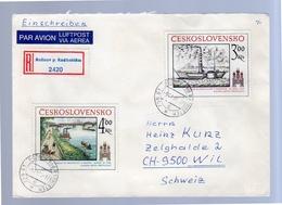 Ships Cover 1988 (86) - Cecoslovacchia
