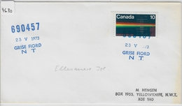 1973 690457 Grise Fiord N.W.T. - Northern Region Flight Operations 23.V.73 - Polar Flights