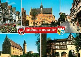 73173448 Ochsenfurt Altes Und Neues Rathaus Altstadt  Ochsenfurt - Ochsenfurt