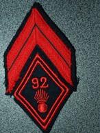 GRADE  CAPORAL  92 RI - Patches