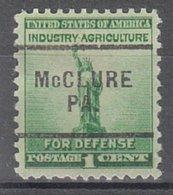 USA Precancel Vorausentwertung Preo, Locals Pennsylvania, McClure 703 - Vereinigte Staaten