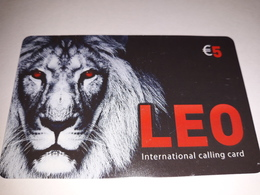 Leone Lion Prepagata Usata 5€ Calling Card - Jungle