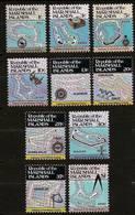 MARSHALL ISLANDS 1984 - Various MAPS Of The Islands - SALE! 10v Compl Mi  Mi 5A-14A MNH ** Cv€8,00 V305 - Marshall