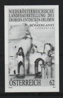 """Österreich 2011: Schwarzdruck """"NÖ.Landesausstellung"""" Postfrisch - 1945-.... 2de Republiek"""