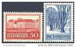 DENEMARKEN 1966 Natuur Fluorescerend Papier PF-MNH-NEUF - Danemark