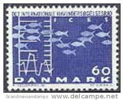 DENEMARKEN 1964 Cogres Fluorescerend Papier PF-MNH-NEUF - Danemark