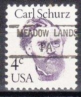 USA Precancel Vorausentwertung Preo, Locals Pennsylvania, Meadow Lands 845 - Vereinigte Staaten