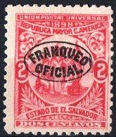 EL SALVADOR, UNIONE AMERICA CENTRALE, 1898, FRANCOBOLLI NUOVI (MLH*),  Michel D66   Scott O135 - El Salvador