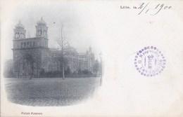 59 LILLE CPA Précurseur Timbre Oblitéré 1900  Jolie Vue Du PALAIS RAMEAU - Lille